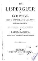 Los Lisperguer y la Quintrala (doña Catalina de los Rios)