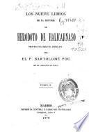 Los nueve libros de la historia de Heródoto de Halicarnaso
