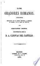 Los oradores romanos