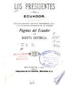 Los presidentes del Ecuador