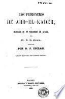 Los prisioneros de Abd-el-Kader