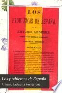 Los problemas de España