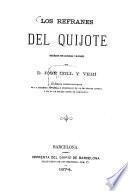 Los refranes del Quijote (por Cervantes) ordenados por materias y glosados por José Coll y Vehí