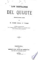Los refranes del Quixote
