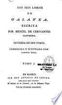 Los seis libros de Galatea...