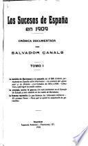 Los sucesos de España en 1909