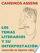 Los temas literarios y su interpretación