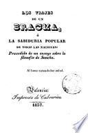 Los Viajes de un Bracma, ó la sabiduria popular de todas las naciones