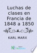 Luchas de clases en Francia de 1848 a 1850