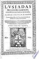 Luisiadas comentadas por Manoel de Faria i Sousa etc