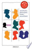 Machismo, feminismo, homosexualismo (Colección Rius)