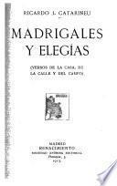Madrigales y elegías