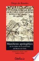 Manifiesto apologético de los daños de la esclavitud del Reino de Chile (1670)