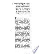 Manifiesto que da al Público el Coronel D. Anto de la Rocha y Figueroa de las razones que hubo para quedar en poder de los enemigos a la entrada de estos en Andalucia, servir la Comandancia... etc. de Bujalance