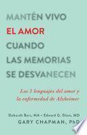 Mantén vivo el amor cuando las memorias se desvanecen