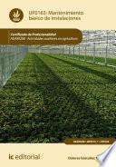 Mantenimiento básico de instalaciones. AGAX0208