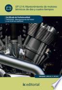 Mantenimiento de motores térmicos de dos y cuatro tiempos. TMVG0409