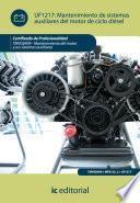 Mantenimiento de sistemas auxiliares del motor de ciclo diésel. TMVG0409