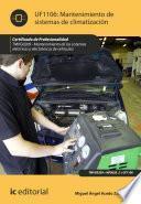 Mantenimiento de sistemas de climatización. TMVG0209