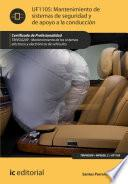Mantenimiento de sistemas de seguridad y de apoyo a la conducción. TMVG0209