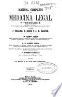 Manual completo de medicina legal y toxicología