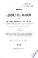 Manual de agricultura tropical