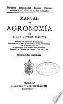 Manual de agronomía