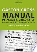 Manual de Análisis Lingüístico