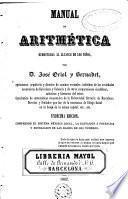 Manual de aritmética