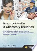 Manual de atención a clientes y usuarios