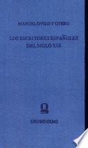 Manual de biografía y de bibliografía de los escritores españoles de siglo XI