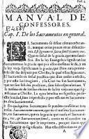 Manual de confessores