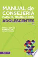 Manual de Consejería para el trabajo con Adolescentes