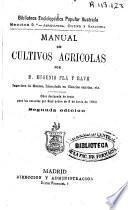 Manual de cultivos agrícolas