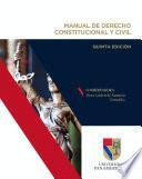 Manual de derecho constitucional y civil