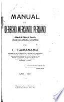 Manual de derecho mercantil peruano