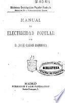 Manual de electricidad popular