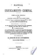 Manual de enjuiciamiento criminal