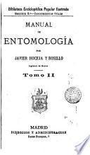 Manual de entomologia, 2