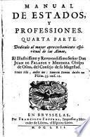 Manual de estados, y professiones