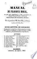 Manual de filosofia moral