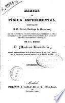 Manual de física esperimental...