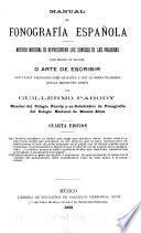 Manual de fonografia española