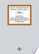 Manual de Fundamentos de Derecho público y privado