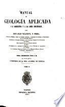 Manual de geología aplicada ala agricultura y a las artes industriales