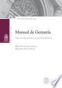 Manual de geriatría
