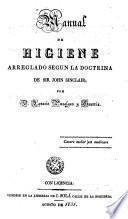 Manual de Higiene arreglado según la doctrina de Sir John Sinclair