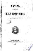 Manual de historia de la Edad Media