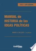 Manual de historia de las ideas políticas
