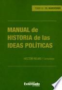 Manual de historia de las ideas políticas - Tomo III